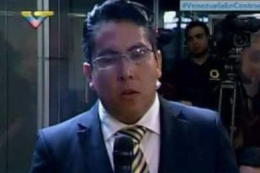 ¡ARRASTRADO! La burla de este presentador de VTV tras la muerte de Óscar Pérez (+Video indolente)