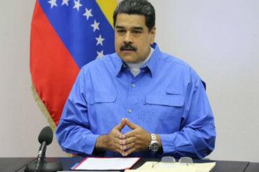 """¡MÁS MENTIRAS! Maduro dijo tener """"pruebas"""" de presión de EEUU a la oposición"""