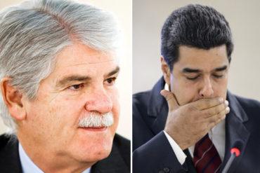 ¡AJÁ NICOLÁS! Alfonso Dastis no ve cercano intercambio de embajadores con el gobierno venezolano