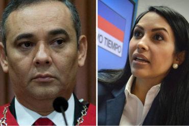 """¡DURO! El ácido comentario de Delsa Solórzano que salpica a Maikel Moreno: """"En lugar de trabajar cuentan chistes"""""""