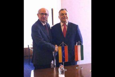 ¡NO GUSTARÁ A NICO! Ledezma se reunió con el primer ministro de Hungría para tratar crisis venezolana