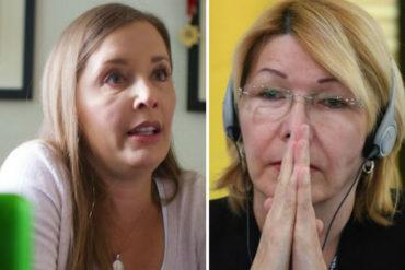 """¡CONTUNDENTE! Bony de Simonovis a Luisa Ortega Díaz: """"Sería bueno conocer quién la presionó para que acusara a mi esposo"""""""