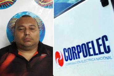 """¡ATENCIÓN! Detuvieron a trabajador de Corpoelec por alertar sobre un presunto """"apagón en los próximos días"""" (+Tuits)"""