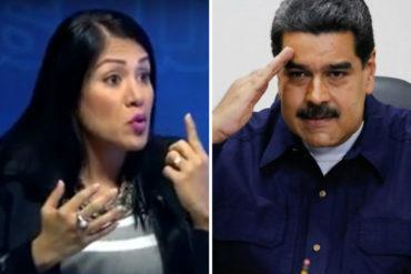 ¡ATENCIÓN! La gobernadora del Táchira denuncia que Maduro le niega los recursos mientras le regala minas de oro a sus mandatarios rojitos