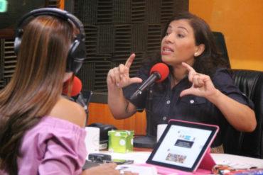 """¡SÍ, CLARO! Tania D´Amelio comparó los procesos electorales de Colombia y Venezuela: """"Aquí no hay improvisaciones"""""""