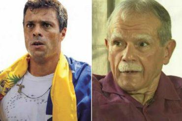 ¡POR FAVOR! López Rivera: Si Leopoldo estuviera en EEUU estaría en una prisión de máxima seguridad