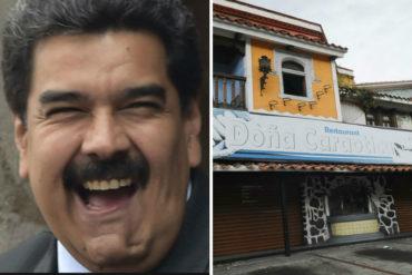 ¡LAMENTABLE! Restaurantes cerrados o poca clientela: la realidad de Las Mercedes que Maduro ignora