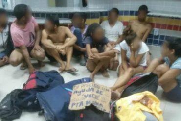 ¡QUÉ RAYA! Nueve venezolanos fueron arrestados por robar una tienda en Boa Vista, Brasil