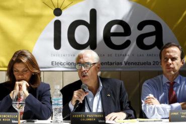 ¡SEPA! Grupo Idea ganó Premio Oswaldo Payá y a Ledezma se le confirió mención especial