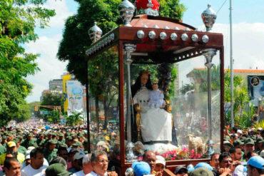 ¡ATENCIÓN! La Divina Pastora retorna después de peregrinación de 70 días (visitó 57 recintos religiosos)