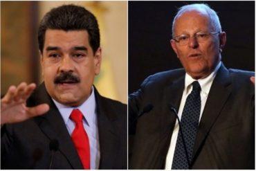 ¡NO APRENDE! Periodistas critican que Maduro recibió más dinero que Kuczynski pero no renuncia