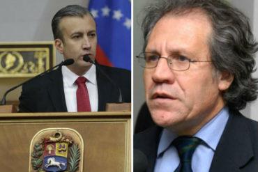 ¡SE PICÓ! El Aissami cargó contra Almagro por sus últimas declaraciones en contra del Estado