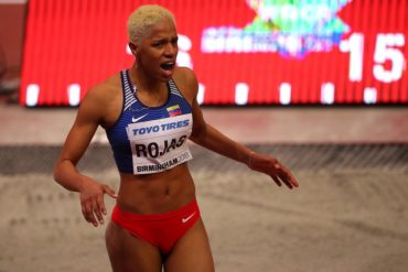 ¡AQUÍ ESTÁN! Las palabras de Yulimar Rojas después de triunfar en el Mundial de Atletismo (+Video)