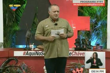 """¡QUÉ DRAMA! Diosdado Cabello armó una novela: """"Banesco dirige toda la desestabilización del cono monetario"""""""