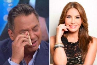 ¡NO SE LO PIERDA! Viviana Gibelli le envió conmovedor mensaje a Daniel Sarcos tras su salida de Telemundo
