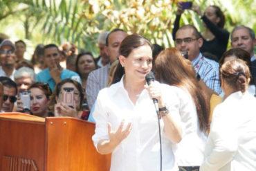 ¡LO DIJO! María Corina Machado: Necesitamos unidad, pero para lograr la dimisión de la dictadura