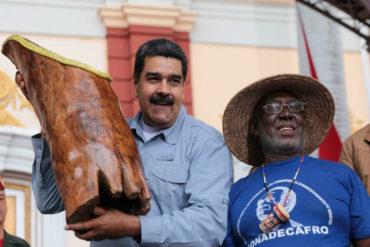 ¡LO ÚLTIMO! La exhorbitante suma que Maduro aprobó para la comunidad a afrodescendiente