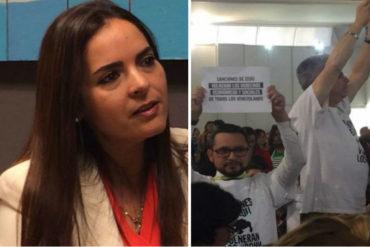 """¡NO SE QUEDÓ CALLADA! Tamara Suju sobre chavistas en Lima: """"Actúan por obediencia y dinero"""" (+Tuit)"""