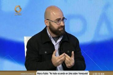 """¡MÍRELO! Analista internacional se hizo el loco cuando le preguntaron sobre denuncias de """"fraude electoral"""""""