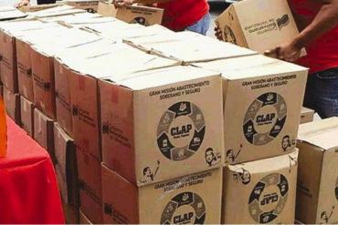 ¡EL COLMO! Denuncian que el ELN entrega cajas CLAP a habitantes de cinco estados fronterizos