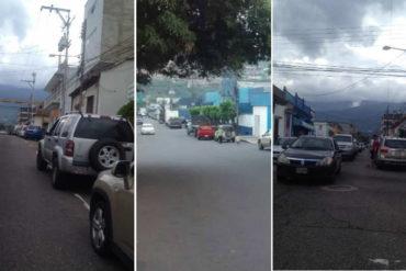 ¡ENTÉRESE! Usuarios se quejaron por largas colas en las estaciones de servicio de Táchira ante escasez de combustible (No hay transporte)