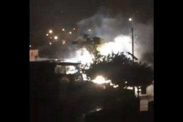 ¡ATENCIÓN! Explosión en subestación eléctrica Veritas produjo nuevos apagones en Maracaibo (+Video)