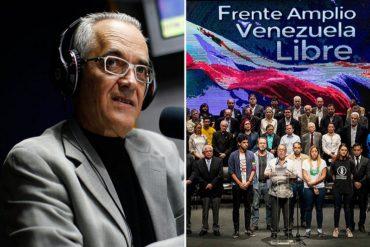 ¡SIN TAPUJOS! Las incómodas interrogantes de Nelson Bocaranda sobre las elecciones (no le gustarán al Frente Amplio Venezuela Libre)