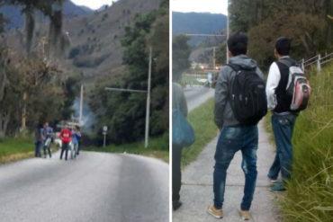 ¡ATENCIÓN! Protestan en las afueras de la Universidad de los Andes por falta de recolección de basura (+Fotos)
