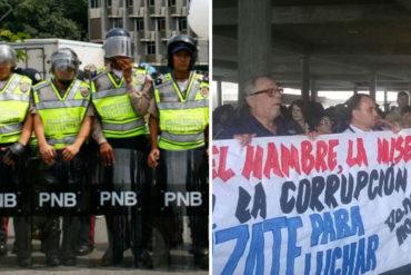 ¡ENTÉRESE! La PNB dispersó protestas vecinales por fallas de servicios en Caracas