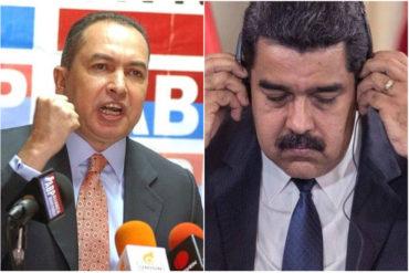 """¡DE FRENTE! Richard Blanco señala a Nicolás Maduro por tener doble nacionalidad: """"Nuestra Constitución lo prohíbe"""""""
