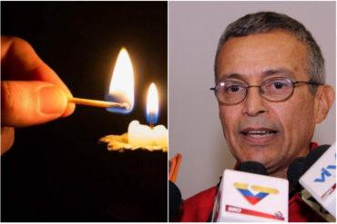 ¿ALÓ, MOTTA DOMÍNGUEZ? Habitantes del Zulia están sin electricidad desde el miércoles (van más de 24 horas)