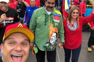 """¡POR RASTRERO! A Omar Acedo le dieron hasta con el tobo por """"alabar la democracia"""" este 20-M"""