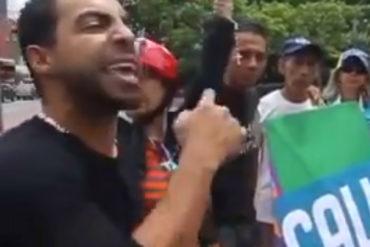 ¡VEA! El discurso que dio el joven de la resistencia Heber Ramírez días antes de su desaparición (+Video)