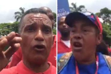 ¡HARTOS! Trabajadores de la Alcaldía de Caracas protestan por falta de cajas Clap (las pagaron y no aparecen) (+Video)