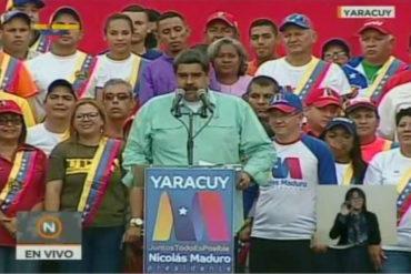 """¿AHORA SÍ? Maduro dice que ganará las elecciones para darle un """"futuro mejor"""" a los venezolanos"""
