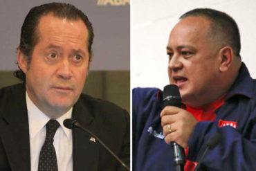 ¡DESESPERADO! La grave acusación que hizo Diosdado Cabello contra el dueño de Banesco, Juan Carlos Escotet