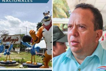 ¡EXPROPIADA! Rodolfo Marco Torres reactivó la planta de Kellogg's en Aragua (+Video)