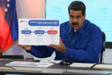 """¡AJÁ, NICO! Los venezolanos dan sus condolencias al salario mínimo y reiteran que """"Maduro es hambre"""" #1May (+Fotos)"""