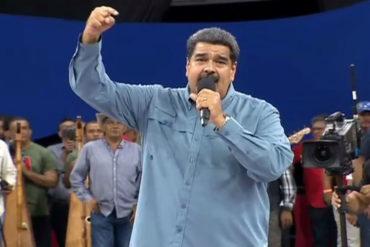 ¡CANTÓ LOS RESULTADOS! Maduro delira y se autoproclama ganador de las elecciones presidenciales
