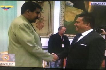 ¡HUELE RARO! Bertucci se fue a Miraflores para reunirse con Maduro (No llevó sopa +Video)