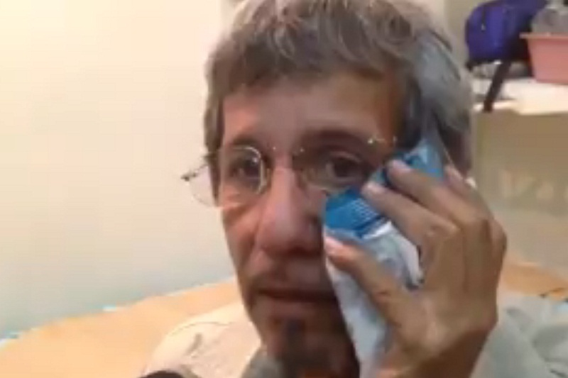 ¡SÉPALO! Camarógrafo de Venevisión contó cómo el coronel Lugo tiró la cámara contra el piso y dejó que la GNB lo agrediera