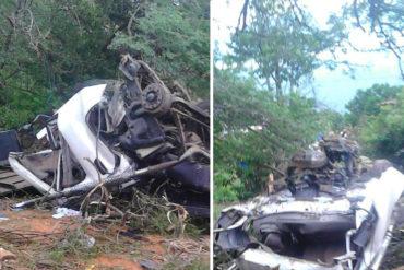 ¡TRISTE! Menor de 15 años conducía camión que se accidentó en Venezuela y dejó 12 muertos