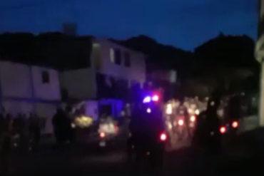 ¡GRAVE! Denuncian heridos por perdigones en San Cristóbal en protesta contra el gobierno (+Videos)