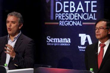 ¡DOS VISIONES, UN PAÍS! Iván Duque y Gustavo Petro definirán presidencia de Colombia en segunda vuelta