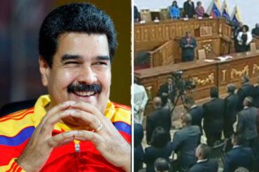 "¡ÚLTIMA HORA! Nicolás Maduro se juramentó como ""presidente constitucional"" ante la ANC este #24May"