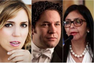 """¡AJÁ! Pianista Gabriela Montero acusa a Dudamel de beneficiarse de una """"red"""" financiada por el régimen: """"Es la marioneta de Delcy"""""""