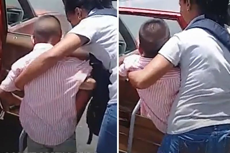 ¡POBRECITO! El trauma del niño que perdió tres dedos en un transporte improvisado