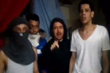 """¡DE FRENTE! Presos políticos no durmieron y alertan que seguirán """"alzados por la libertad"""" del país (+Video)"""