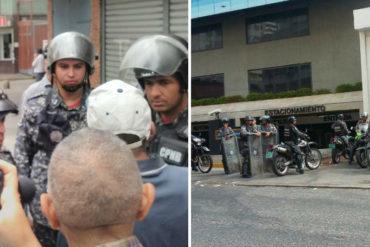 ¡ATENCIÓN! PNB disolvió protesta frente a la Cruz Roja Venezolana en La Candelaria #1May (+Fotos +Videos)