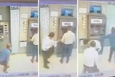 ¡ATENTOS! El modus operandi que utilizan los delincuentes para robar a abuelos en cajeros (+Video)